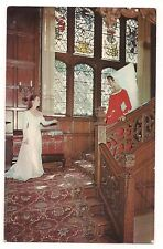 Women in Period Dress STAN HYWET HALL North Portage Path Akron  Ohio Postcard OH