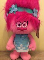 """NEW Trolls Poppy Plush Stuffed 20"""" Dreamworks Big Tall PINK Hair"""