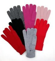 Mongolia Pure Cashmere Wool Women Woman Thick Luxury Touch Gloves Mittens
