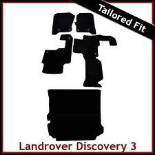 Landrover Discovery 3 Tailored Fitted Car + Boot Mats 2 Clip