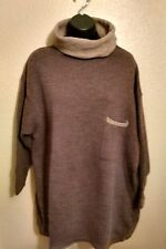 Woman's Colors of Benetton wool blend cowl neck sweater, 10/12 (44)