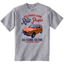 VINTAGE JAPANESE CAR HONDA Z600 - NEW COTTON T-SHIRT