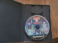 Playstation 2 Tetris Worlds disc & Case TESTED