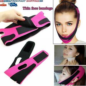 Face V-Line Slim Chin Cheek Belt Lift Up Slimming Mask Anti-Aging Strap Band