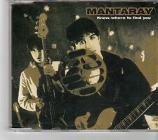 (FK320) Mantaray, Know Where To Find You - 1997 CD