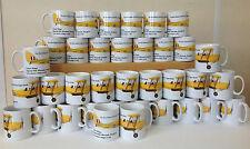 PRINTED MUGS Bespoke personalised mugs ONLY 36  - Your Logo, Design, Photos