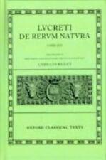 De Rerum Natura (Oxford Classical Texts)