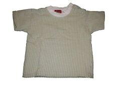 Mexx tolles T-Shirt Gr. 74 grün-weiß kariert !!