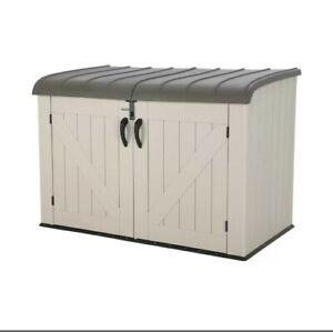 Lifetime Horizontal Storage Shed