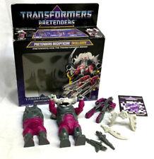 RARE 1988 Hasbro Vintage G1 Transformers Pretenders Skullgrin Complete Boxed
