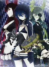 Black Rock Shooter Brs, Dm, And Bgs Fabric Poster