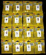 """Lego 8683 """"SERIES 1 MINIFIGURES"""" Complete Full Set Of 16 New Rare Factory Sealed"""