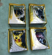POKEMON PLUSH 20TH ANNIVERSARY LOT NEW ARCEUS PIKACHU MELOETTA GENESECT