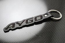 Toyota AYGO Luxury Leather Keyring Keychain Schlüsselring Porte-clés VVTi