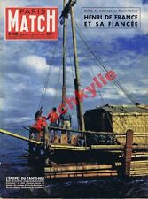 Paris Match n°430 du 06/07/1957 Henri de France Sisley impresionisme Chine Boxe