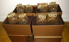 Rare sold out set of 8 Jay Strongwater Emma napkin rings with boxes new