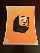 Olly Moss A LIFE WELL WASTED Episode 3 Print Poster Videogame NES Super Mario