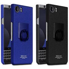 KEYone Imak Cowboy Slim Matte Hard Case Cover +Ring Holder For BlackBerry KEYone