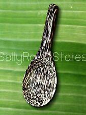 Thai Handcraft Wood Ladle Big Spoon Kitchen Utensil Natural