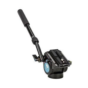 Sirui Vh-10 Aluminum Professional Fluid Video Head; 8.8 Lbs Load Capacity