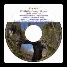 Rockbridge County Virginia History and Genealogy