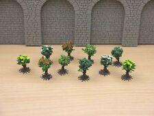 Jordan Scenic HO Gauge Pack de 10 Color arbustos # 9B