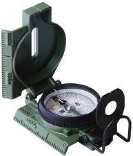Olive Drab Military GI Phosphorescent Lensatic Compass