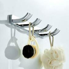 Bathroom Wall Hooks Hanger Hand Towel Clothes Holder Bath Accessory Kitchen Tool