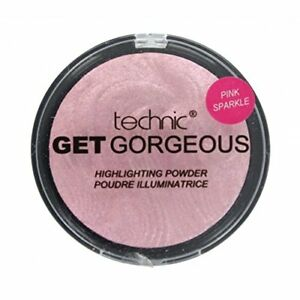 Technic Highlighter Get Gorgeous - Pink Sparkle - Blush Shimmer Contouring Face