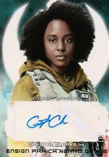 Star Wars The Last Jedi Series 2, Crystal Clarke Autograph Card