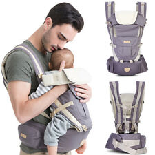 3 in 1 Infant Baby Carrier Backpack Ergonomic Adjustable Wrap Sling 0-36 Months