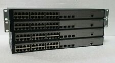 Job Lot Of x4 HP JG924A 1920-24G Gigabit Managed Switch