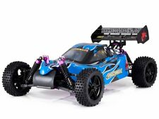 Rc Trucks Gas Powered Remote Control Car For Boys Nitro Powered Hobby 4x4 Blue