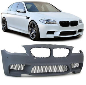 BMW 5 series F10 F11 10-13 M5 style front bumper kit PDC No Fog holes UK