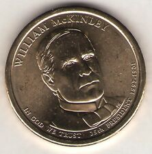 US. 2013-D. William McKinley. 25th President (3/4/1897-9/14/1901) UNC.