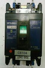 Mitsubishi Nf30 Ss 5 Amp Circuit Breaker