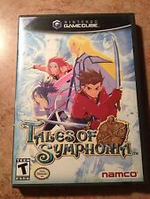 Tales of Symphonia Rare 2-Disc RPG Black Label Complete (Nintendo GameCube) Game