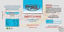 OMEGA 3 (TG) 90 perle da 1 gr. OLIO DI PESCE PURISSIMO