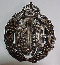 WW2 RAAF Royal Australian Air Force Bronze Hat Badge