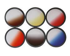 55mm Filterset  Verlaufsfilterset ROT + BLAU + GRAU+Tabak + Orange  55mm  55mm