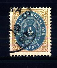 DANISH WEST INDIES - INDIE OCCIDENTALI DANESI - 1873-1890 - Cifra: I numeri in c