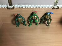 Playmates TMNT 2003 Teenage Mutant Ninja Turtles Action Figure Lot bundle
