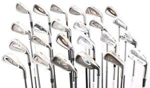 Lot of 24 Golf Single Irons Cobra Titleist Mizuno Cleveland TaylorMade Hogan RH