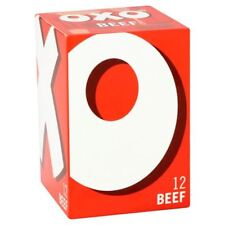 Oxo Beef Stock 12 Cube 71g - British Cubes