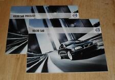 Volvo S60 Brochure Set 2007 - S SE Lux SE Sport 2.0T 2.4D