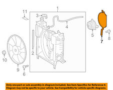 Scion TOYOTA OEM 12-15 iQ 1.3L-L4 Cooling Fan-Insulator 1637447010