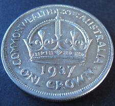 1937 Australia Crown #180112-2 =NICE DETAILS=