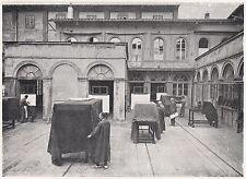 D2209 Firenze - L'officina di riproduzioni fotografiche dell'I.G.M. - 1923 print