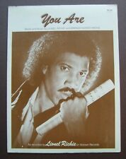 You Are by Lionel Richie sheet music Brenda Harvey-Richie
