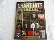 Chart Hits from 2015 & 2016 for Piano, Vocal and Guitar